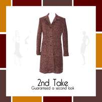 Jenny Button Designer coat at bargain prices from 2nd Take!