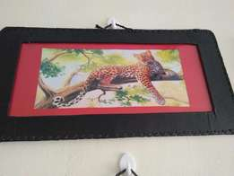 African wall hanging