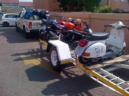 bike transport and couriers all over KZN same day