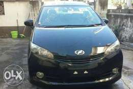 Fully loaded black Toyota Wish On Sale