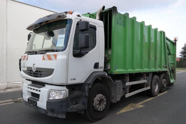 Renault PREMIUM L 310.26 S P 6x2 EURO 5 pro přepravu odpadu - 2010
