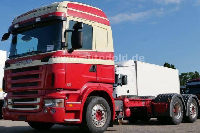 Scania R 420 Fahrgest. Lift. Lenk Retarder Tacho alt E5 - 2006