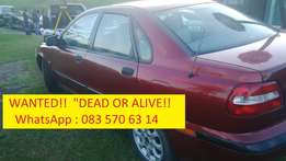 Wanted Volvos, accident damaged / non Running or Gear box problems