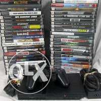 PS2 with CHURP n 45 LATEST games price negotiable