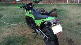 Loncin LX250GY motorcycle