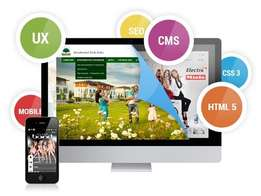 Get a Beautiful Responsive Webdesign with incuded SEO & Corporate Prof