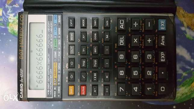 Casio FX 4200P scientific Calculator