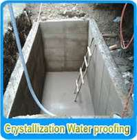 Basements and rooftops water proofing solutions