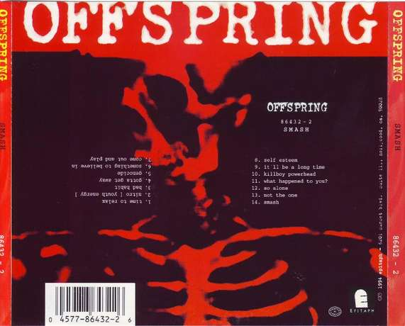 Offspring - Smash (CD) Plumstead - image 2
