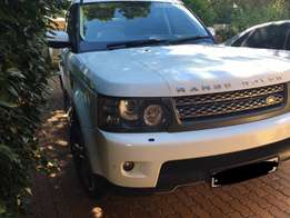 2011 White Range Rover Sport 5.0L Supercharged