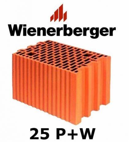 Pustak Porotherm 25p W Kl 15 Ceramiczny Wienerberger Radom Makowiec