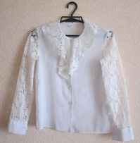 ebd99dd1ec5 Блузка для девочки. Одежда в школу.