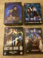 Large Doctor Who CD and BluRay Collection