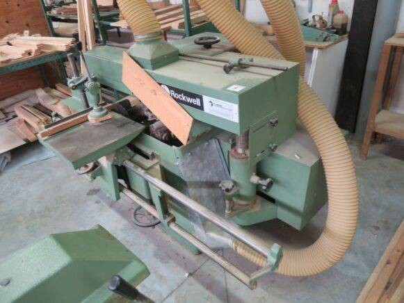 Rockwell Turbo Woodworking Machinery For Sale By Auction 1984 For