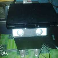 A fairly used Samsung DVD player for sale