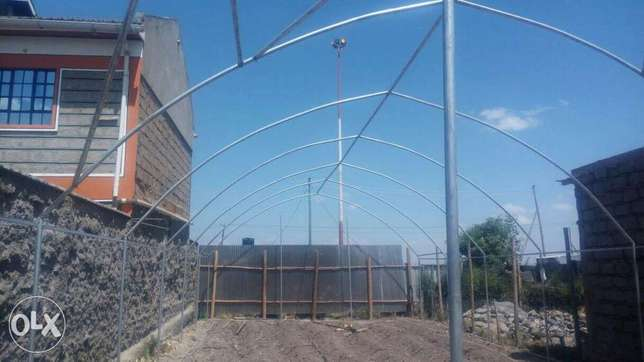 Greenhouses construction-Steel structured Ruai - image 3
