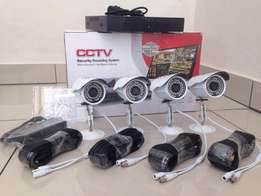 4 CHANNEL -CCTV Camera Systems For Sale (BRAND NEW)