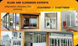 Sliding windows and doors customised