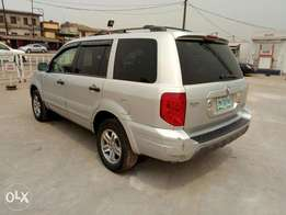 Smooth and neatly used 2004 Honda pilot, ac, leather, dvd, v6.