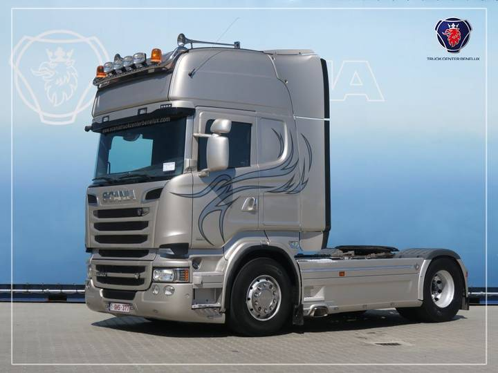Scania R520 LA4X2MNA   V8   Hydraulic   Navi - 2014