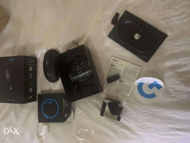 Logitech Pro Wireless Mouse (with all parts and on warranty)