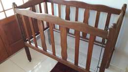 Cot antique solid wood