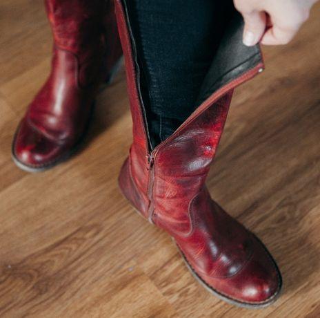 Жіночі чоботи шкіряні  Женские ботинки кожанные демо Тернопіль - зображення  5 aaf30d16ec79d