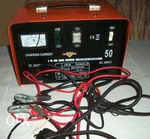 Battery Charger With Booster 50Amp 30Amp 10Amp