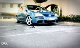 Golf 5 gti rims with Tyres