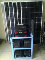 2.5kva solar power backup system including installation