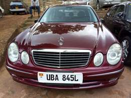 A Mercedes Benz E320, 2004model on sale