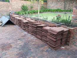 Roof tiles R500 for approx 300 tiles