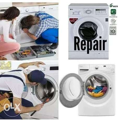 We are repair washing machine fridge A.c