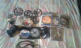 Ps2 with 10 good games an two controllers