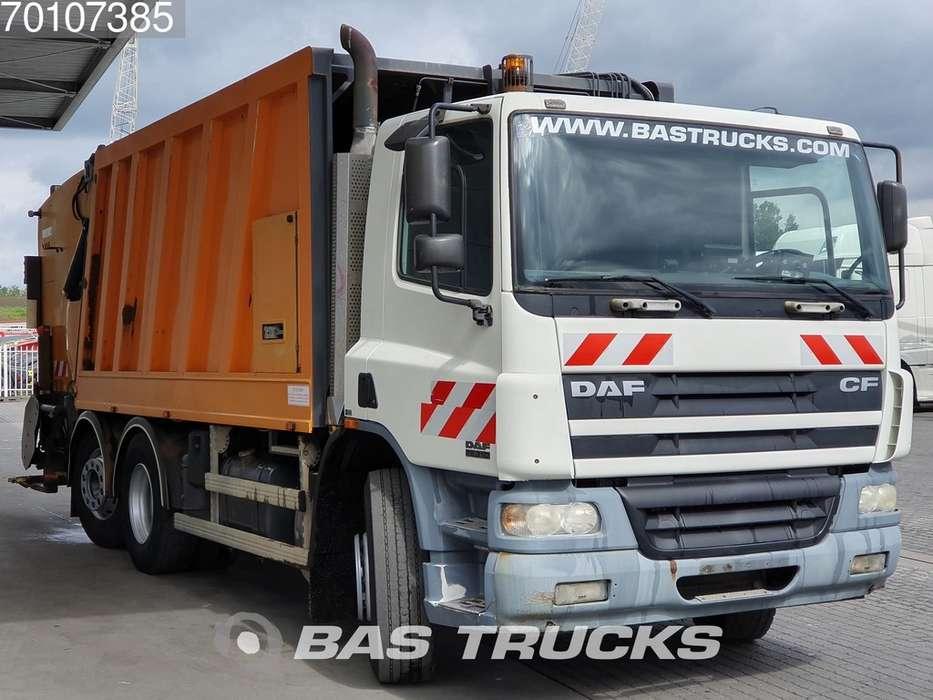 DAF CF75.310 6X2 Steering-Axle Euro 3 Faun Aufbau - 2005 - image 3