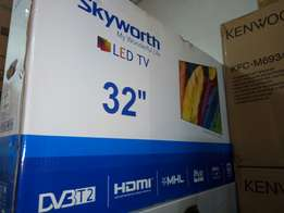 "Brand new 32"" digital skyworth TV on sale!"