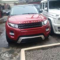 Range rover Evogue 013 tinkan cleared full duty paid accident free
