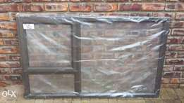 New Aluminium windows bronze