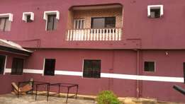 4bedroom duplex for sale on a plot of land at weigh bridge Owode
