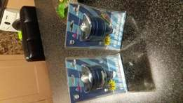 Brand new 2×70 mm all metal aluminium rc fans for sale still in boxes