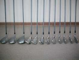 Set of spalding golfclubs