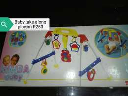 Take along baby play gim
