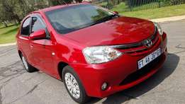 2014 Toyota Etios 1.5 Sedan for sale