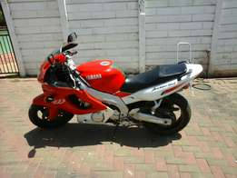Motorcycle to swop for car