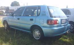 2004 Toyota tazz, clean and well taken care of