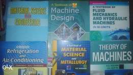 Text books of Mechanical and Marine Engineering
