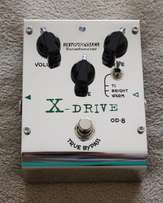 Biyang X-Drive Overdrive Tubescreamer Pedal (OD-8) with 4558D JRC Chip