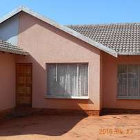 3bedroom house for rent at TlHABANE WEST