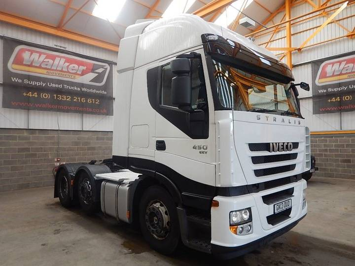 Iveco STRALIS 450 EURO 5, 6 X 2 TRACTOR UNIT - 2013 - GK13 OUD - 2013