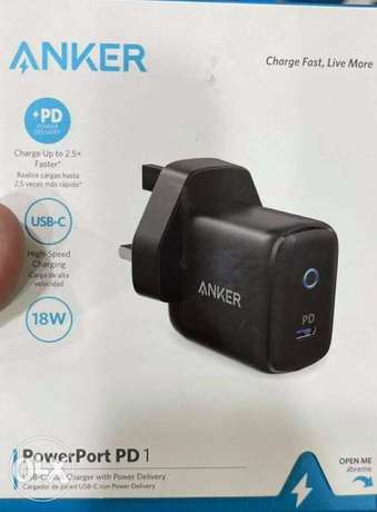 Anker charger 18w